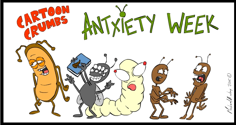 The world of Antxiety has expanded, with brand new characters to keep your cartoon addiction in check!
