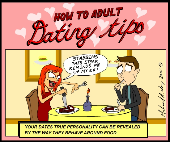 Some tips on how to survive the horror that can be dating someone new.