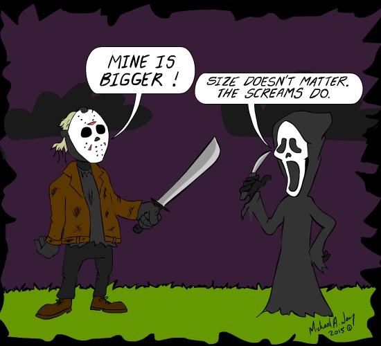 Halloween knife scale!
