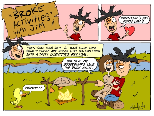 No ducks were harmed in the making of this toon.